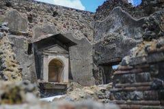 De ruïnes van Pompei Royalty-vrije Stock Fotografie