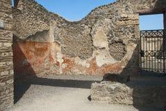 De ruïnes van Pompei, Italië Stock Foto's