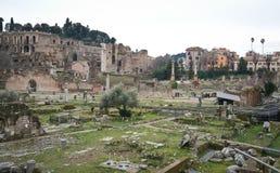 De ruïnes van Rome Stock Foto's