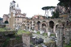 De ruïnes van Rome Royalty-vrije Stock Foto's