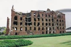 De ruïnes van Stalingrad royalty-vrije stock fotografie