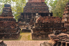 De Ruïnes van Sukhothai Stock Fotografie
