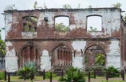 De Ruïnes van Suriname Stock Fotografie