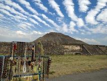 De ruïnes van Teotihuacan Mexico Royalty-vrije Stock Foto