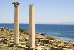 De Ruïnes van Tharros Stock Foto