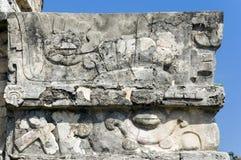 De Ruïnes van Tulum Stock Foto