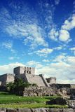 De ruïnes van Tulum in Mexico Stock Foto's