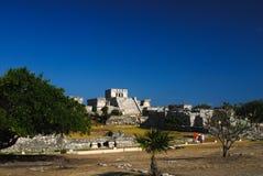 De Ruïnes van Tulum, Mexico Royalty-vrije Stock Foto's