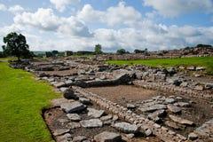 De ruïnes van Vindolanda Royalty-vrije Stock Fotografie