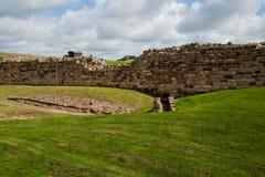 De ruïnes van Vindolanda Royalty-vrije Stock Foto's