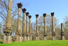 De Ruïnes van Windsor Stock Afbeeldingen