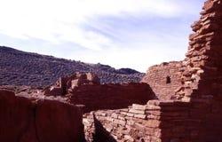 De Ruïnes van Wupatki royalty-vrije stock afbeeldingen