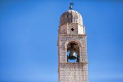 De ruïnesdeur van Poggioreale in balkon Stock Afbeelding