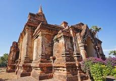 De ruïnetempel in Bagan Royalty-vrije Stock Afbeelding