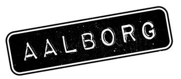 De rubberzegel van Aalborg Stock Foto