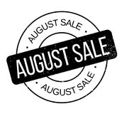 De rubberzegel van August Sale Royalty-vrije Stock Afbeeldingen