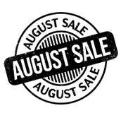 De rubberzegel van August Sale Royalty-vrije Stock Afbeelding