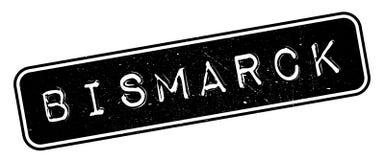 De rubberzegel van Bismarck Stock Fotografie