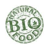 De rubberzegel van de natuurvoeding Stock Afbeeldingen