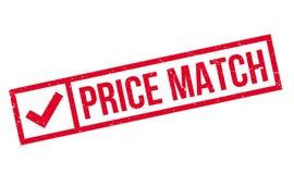 De rubberzegel van de prijsgelijke Royalty-vrije Stock Afbeeldingen