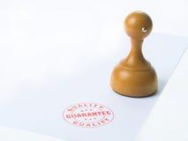 De Rubberzegel van de waarborg Royalty-vrije Stock Afbeeldingen
