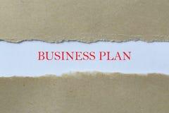 De rubriek van het businessplan royalty-vrije stock fotografie