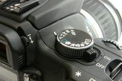 De rug van de canon EOS 350 royalty-vrije stock foto's