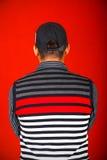 De rug van de jongen Stock Foto's