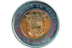 De Rug van het Balboamuntstuk Stock Afbeelding