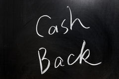 De rug van het contante geld Stock Foto