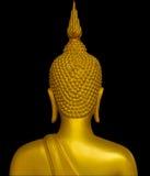 De rug van het standbeeld van Boedha. stock afbeeldingen