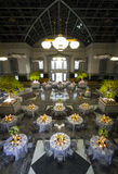 De ruime Balzaal van het Banket of van het Huwelijk Royalty-vrije Stock Afbeeldingen