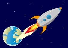 In de ruimte Stock Fotografie
