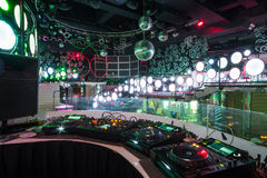 De ruimte in de nachtclub Pacha Royalty-vrije Stock Foto