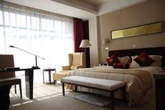 De ruimte of de slaapkamer van het hotel Royalty-vrije Stock Fotografie