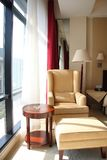 De ruimte of de slaapkamer van het hotel Royalty-vrije Stock Afbeelding