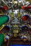 De ruimte en de torpedo's van de torpedo Stock Afbeeldingen
