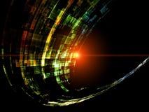 De ruimte Samenvatting van Technologieën stock illustratie
