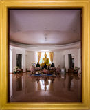 De ruimte van Boedha in Wat Pa Sri Thaworn Nimit Royalty-vrije Stock Fotografie