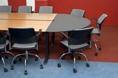 De ruimte van conferenties Stock Foto's