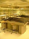 De ruimte van de autopsie Stock Foto's