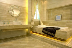 De ruimte van de badkamers Royalty-vrije Stock Fotografie