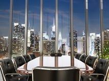 De ruimte van de bedrijfsbureauconferentie Stock Afbeeldingen