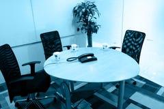 De ruimte van de bespreking Stock Afbeeldingen