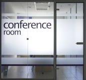 De ruimte van de conferentie Royalty-vrije Stock Foto