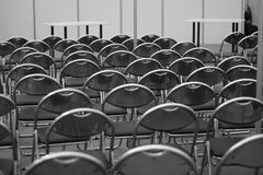 De ruimte van de conferentie Stock Foto