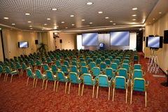 De ruimte van de conferentie Stock Afbeelding