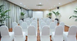De ruimte van de conferentie Royalty-vrije Stock Foto's