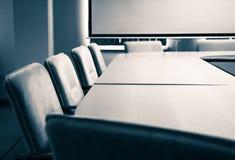De ruimte van de conferentie - stoelen Royalty-vrije Stock Foto
