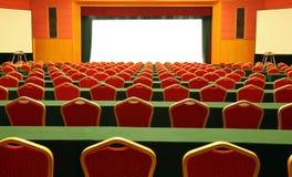 De ruimte van de conferentie/van de vergadering Royalty-vrije Stock Foto